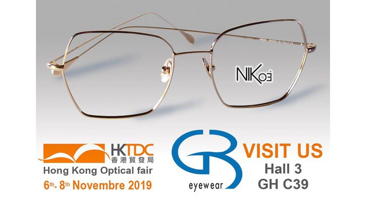 hong kong optical fair 2019 gb eyewear